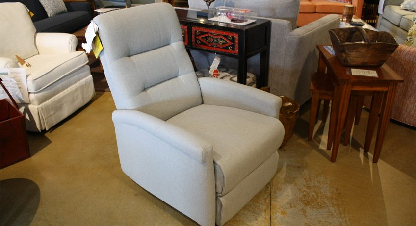 narrow wall hugger recliner